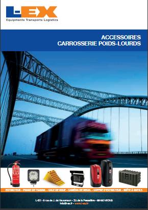 Catalogue équipement pour la carrosserie L-EX